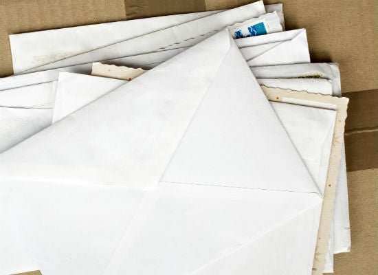 letters remain unopened