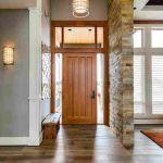 Spacious home entrance