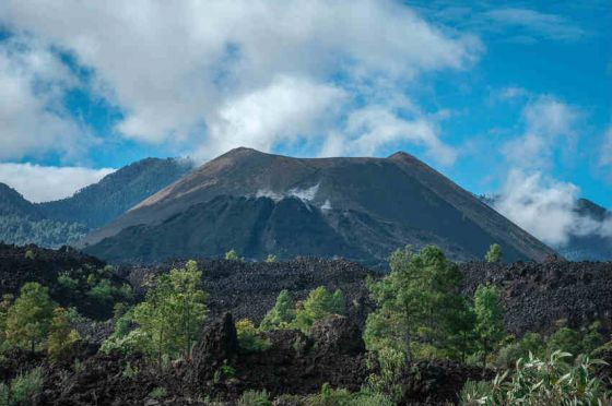 Paricutin is a once-active cinder cone volcano in Michoacán, Mexico. It was chosen as one of the 7 Natural Wonders because it is the only volcano whose birth in 1943 was witnessed and documented by humans.