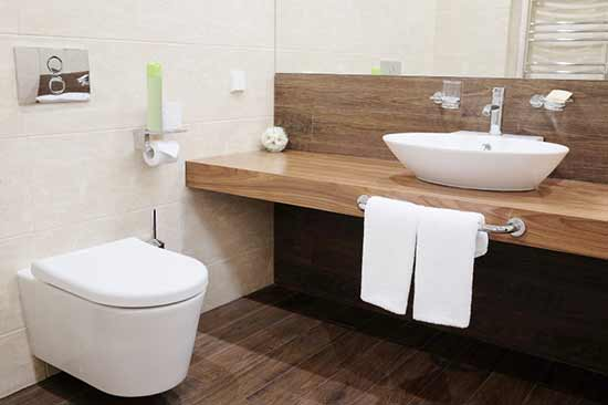 Pamper the bathroom