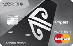 Air New Zealand Airpoints™ Platinum MasterCard ®