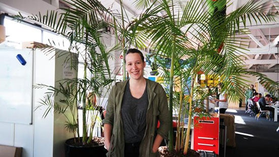 PledgeMe CEO Anna Guenther