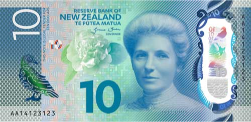 New Zealand $10 note