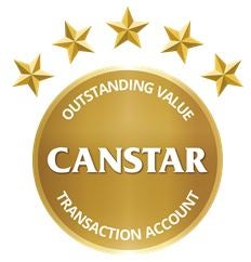 Canstar oustanding value transaction account winners