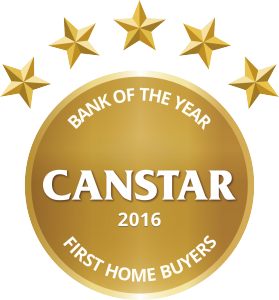 CANSTAR 2016 - Bank of the Year - First Home Buyers