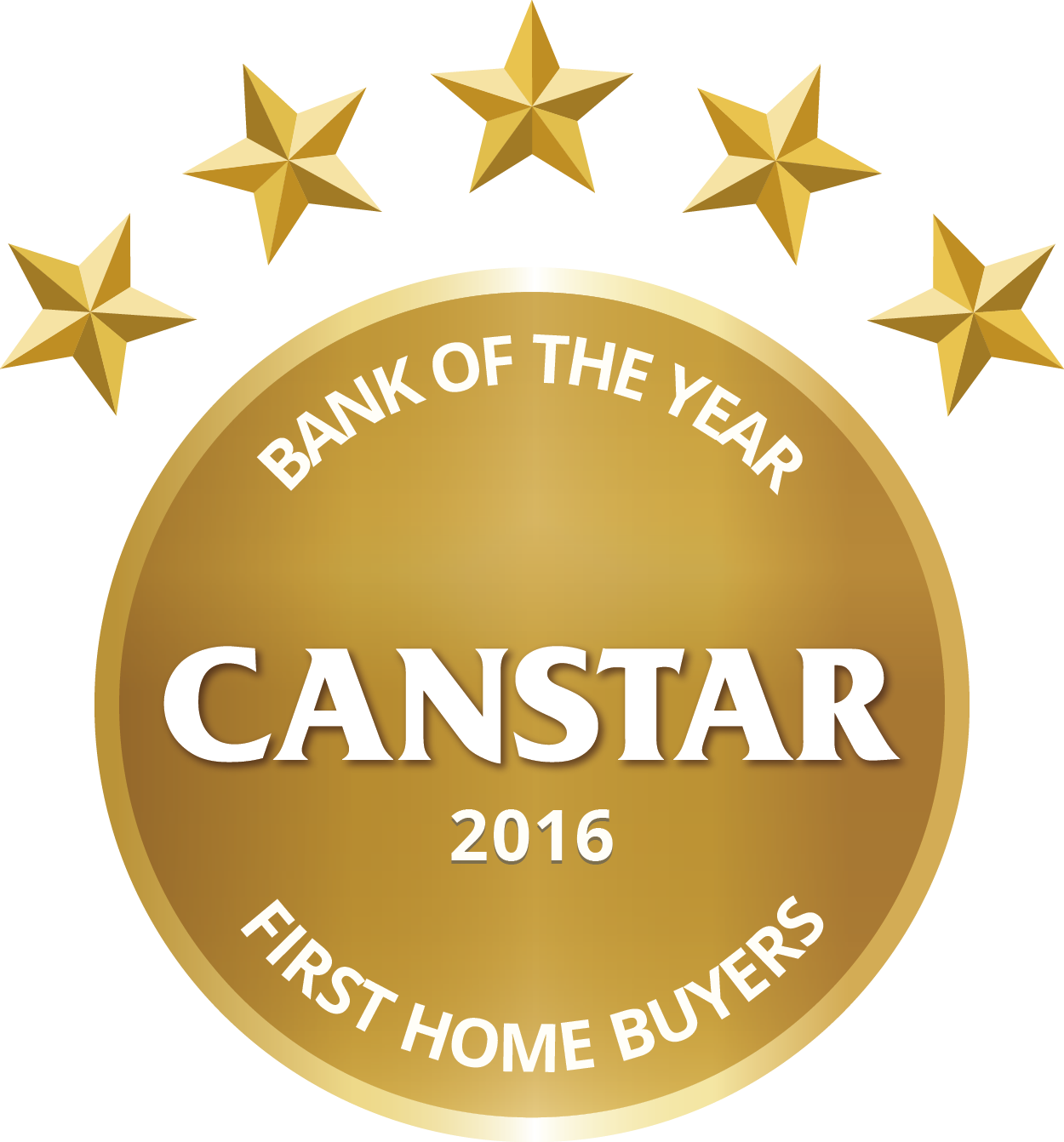 CANSTAR 2016 – Bank of the Year  – First Home Buyers