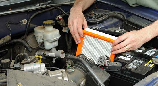 Canstar money saving-tips - Clean the air filter in your car