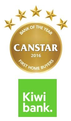 Kiwibank wins 2016 Bank of the Year - First Home Buyers Award