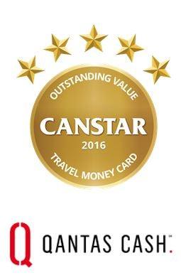 Qantas cash wins outstanding value travel money card