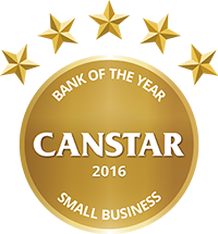 CANSTAR 2016 - Bank of the Year Small Business