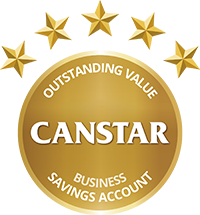 CANSTAR 2017 Outstanding Value Business Savings Account