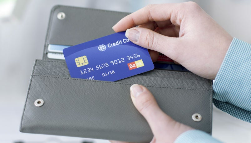 Replacement credit cards