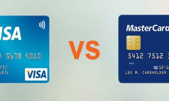 credit cards visa or mastercard