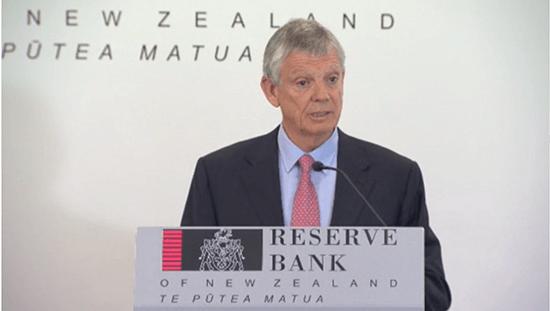 Reserve Bank Governor Graeme Wheeler addresses the media on 9 February