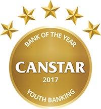 youth banking award canstar