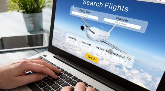 Pay for your flights at the start of your travel budgeting