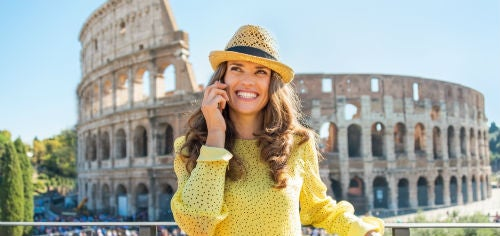 Be careful of roaming charges while travelling
