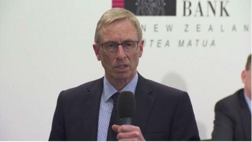 Reserve Bank of New Zealand deputy governor Grant Spencer