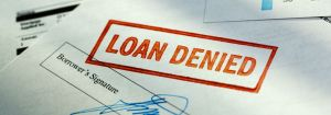 home loan application declined