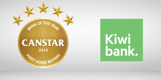Kiwibank is Bank of the Year – First Home Buyers 2018