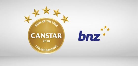BNZ Bank of the Year Online Banking