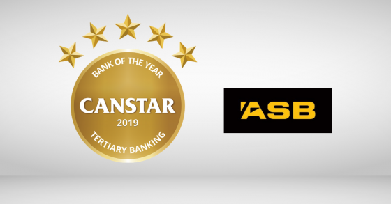 Canstar's verdict: Why ASB is Bank of the Year – Tertiary Banking 2019
