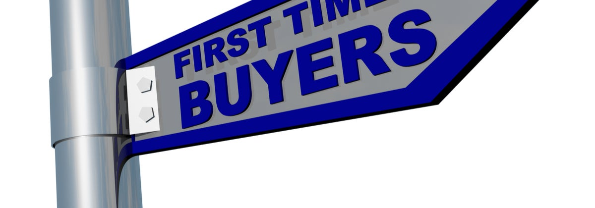 First Home Buyer Sign