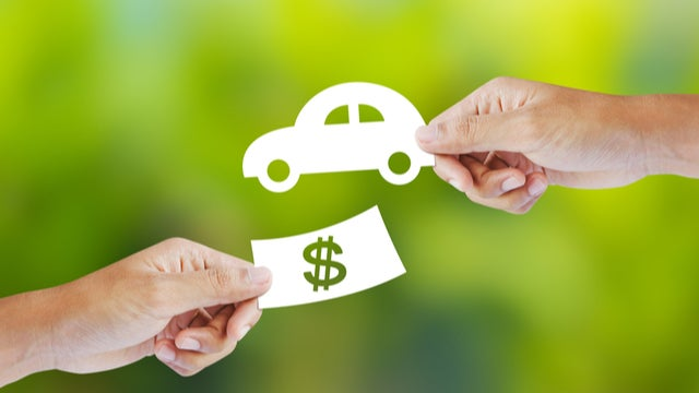 Trading car for money: sell a car with finance owing