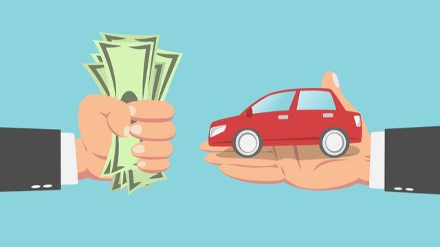 trade in a car