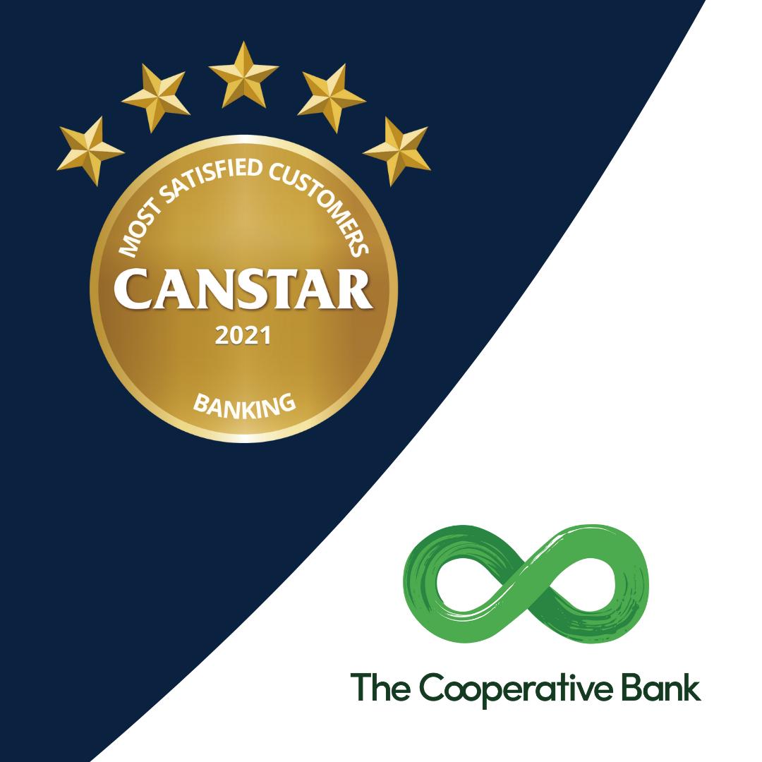 Co-operative bank 2021 customer satisfaction award winner banking