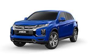 Blue Mitsubishi-ASX