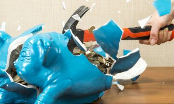 Access your KiwiSaver: smashing open piggybank
