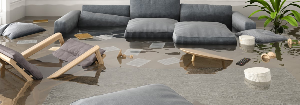 flooded lounge