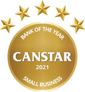 bank of the year small business award 2021