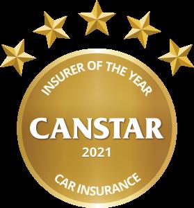 Insurer of the year award logo